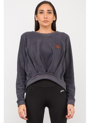 Slazenger Slazenger ONAIR Kadın Sweatshirt K. Gri